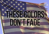 These Colors Dont Fade American Flag Motivational Photo Poster Masterdruck