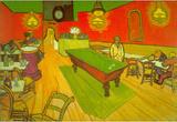 Vincent Van Gogh Night Cafe Art Print Poster Masterprint