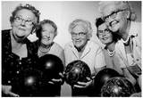 Women's 1962 Bowling Team Archival Photo Poster Prints