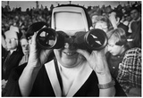 Nun at Fenway Park 1969 Archival Photo Sports Poster Posters