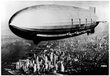 US Navy Macon Zeppelin Archival Photo Poster Posters