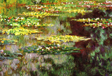 Claude Monet Water-Lily Pond Art Print Poster Masterprint