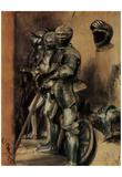 Adolf Friedrich Erdmann of Menzel (Armor, study) Art Poster Print Pósters