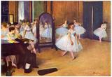 Edgar Degas The Dance Hall Art Print Poster Posters by Edgar Degas