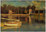 Claude Monet (Bridge at Argenteuil) Art Poster Print Posters