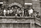 Thread Mill Boys 1916 Archival Photo Poster Print Masterprint