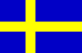 Sweden National Flag Poster Print Masterprint