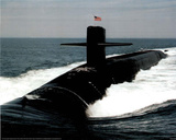 Navy Ballistic Missile Submarine Art Print Poster Plakát