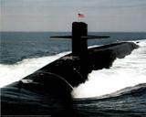 Navy Ballistic Missile Submarine Art Print Poster - Poster