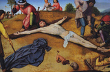 David Christ Nailed to the Cross Art Print Poster Masterprint