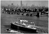 SS Independence New York City 1951 Archival Photo Poster Poster