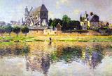 Claude Monet Monet's Garden in Vetheuil Art Print Poster Masterprint