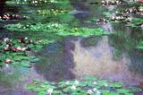 Claude Monet Water-Lilies Landscape Art Print Poster Masterprint