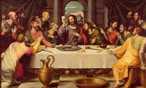 Juan de Juanes (The Last Supper) Art Poster Print Masterprint