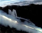 FA-18 Hornet (Firing Missile) Art Poster Print Posters