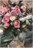 Lovis Corinth Roses 1 Art Print Poster Prints