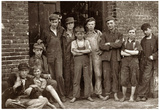 Vermont Mill Boys 1910 Archival Photo Poster Print Poster