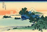 Katsushika Hokusai Shichiri Beach in Sagami Province Art Poster Print Masterprint