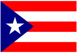 Puerto Rico National Flag Poster Print Poster