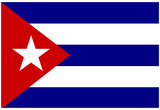 Cuba National Flag Poster Print Print