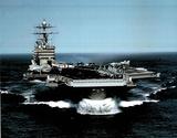 M F Winter USS Harry Truman US Navy Aircraft Art Print Poster Prints
