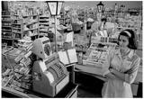 Supermarket 1966 Archival Photo Poster Prints
