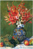 Pierre Auguste Renoir Flowers and Fruit Art Print Poster Posters