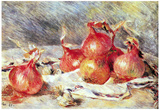 Pierre Auguste Renoir Onions Art Print Poster Photo