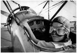 Child Pilot 1972 Archival Photo Poster Prints