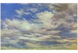 John Constable (Cloud Study) Art Poster Print Prints