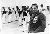 Vince Lombardi on Field Archival Photo Sports Poster Print Posters