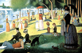 Georges Seurat (A Sunday Afternoon on the Island of La Grande Jatte) Art Poster Print Masterprint