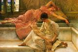 Lawrence Alma-Tadema A Favorite Poet Art Print Poster Masterprint