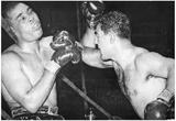 Joe Louis vs Joe Walcott Archival Photo Sports Poster Print Prints