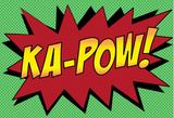 Ka-Pow! Comic Pop-Art Art Print Poster Masterprint