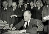 President Franklin Delano Roosevelt World War II Archival Photo Poster Print Photo