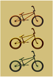 BMX Bikes Pop Art Sports Poster Print Prints