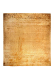 Bill of Rights (First 10 Amendments) Art Poster Print Posters