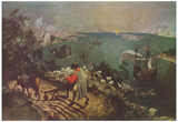 Pieter Brueghel (Landscape with the Fall of Icarus) Art Poster Print Posters