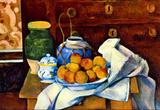 Paul Cezanne Still Life Art Print Poster Masterprint