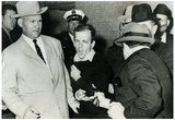 Lee Harvey Oswald being Shot by Jack Ruby Archival Photo Poster Print Prints