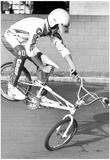 BMX Kid 1987 Archival Photo Poster Foto