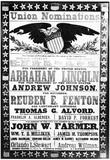 Abraham Lincoln (Campaign Poster) Art Poster Print Prints