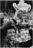 Arthur Ashe Tennis Trophy Archival Photo Sports Poster Prints
