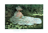 The Reader Claude Monet Art Print Poster Print