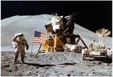 Moon Landing Salute Archival Photo Poster Print - Reprodüksiyon