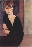 Amadeo Modigliani (Portrait of Madame Reynouard) Art Poster Print Prints