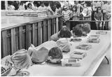 Pie Eating Contest 1976 Archival Photo Poster Posters