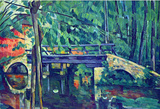 Paul Cezanne Bridge in the Forest Art Print Poster Masterprint