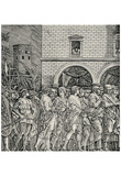 Andrea (School) Mantegna (The triumph of Julius Caesar, The Senators) Art Poster Print Posters